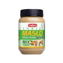 Masło orzechowe ACTIVE mix orzechów crunchy