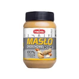 Masło orzechowe ACTIVE 100% orzeszków arachidowych