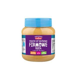 Masło orzechowe Firmowe 100%